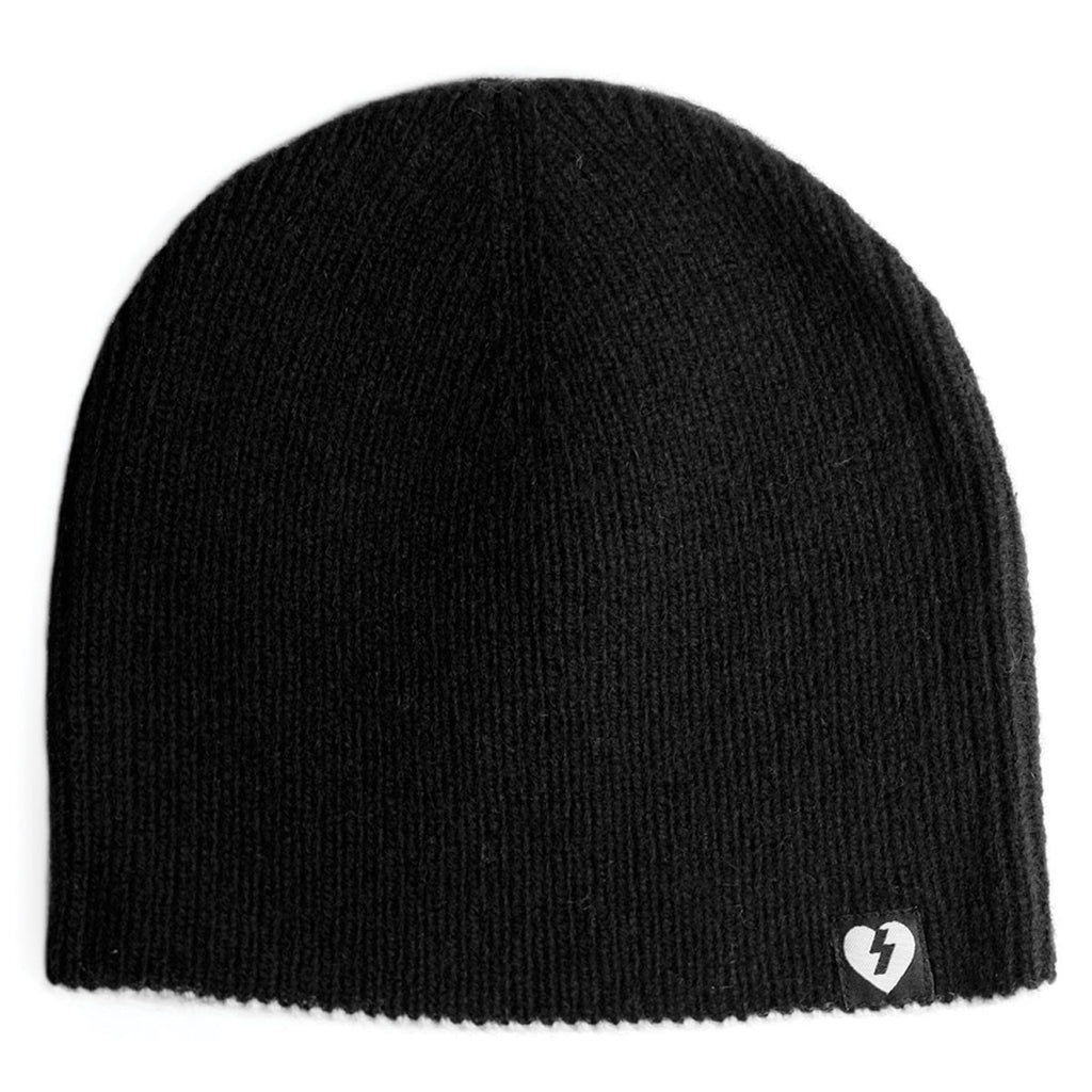 Mystery Custom Knit Beanie - Black