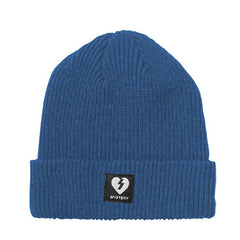 Mystery Heart Patch Beanie - Blue