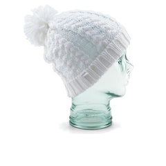 Coal Karolyn Beanie - White
