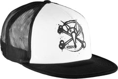 Bones Trucker Circle Rat Men's Hat - Black/White