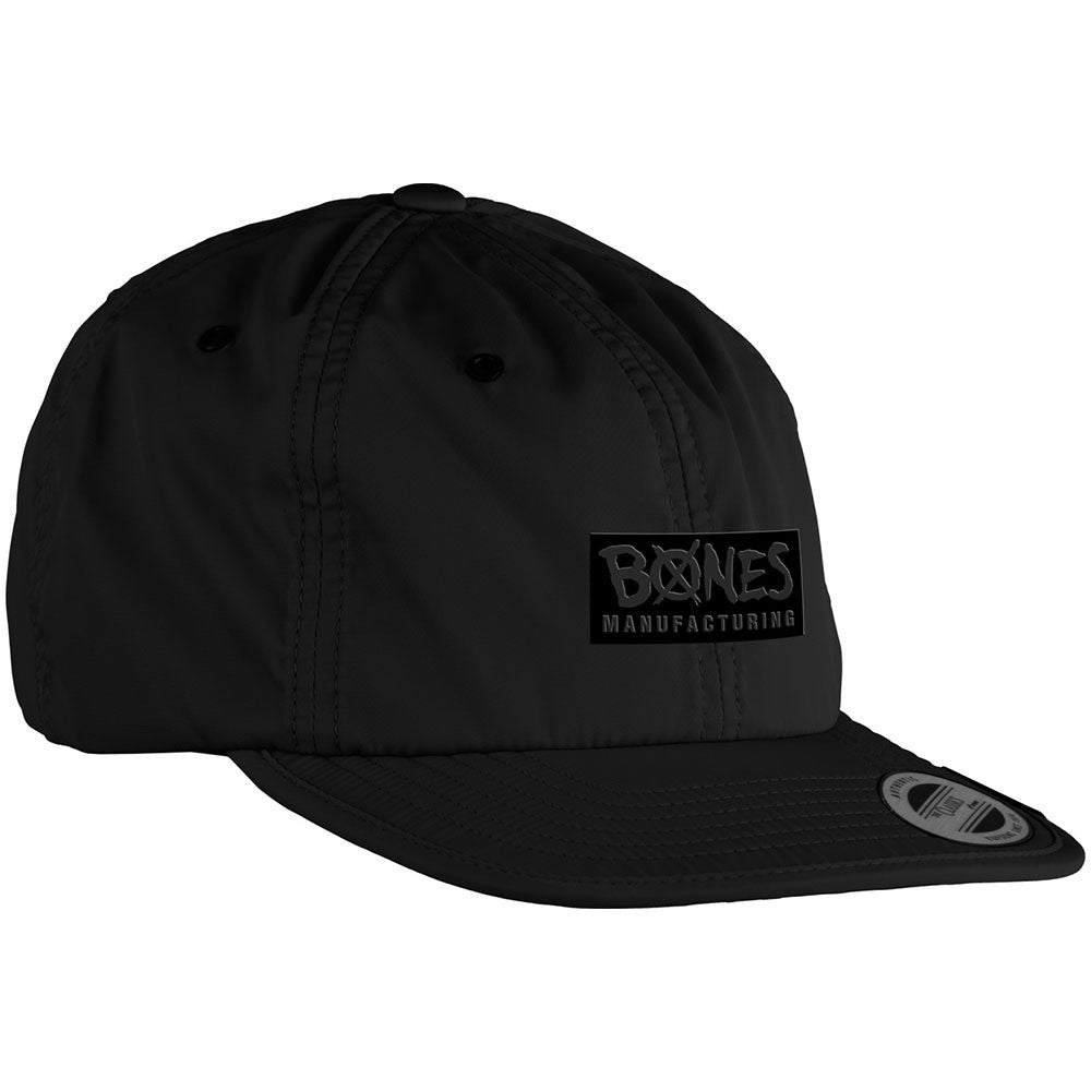 Bones Bearing Embonessed Men's Hat - Black