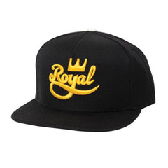 Royal Classic Snapback Men's Hat - Black