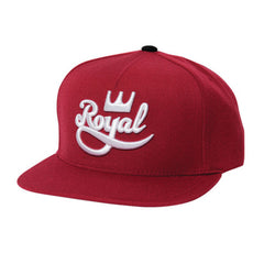 Royal Classic Snapback Men's Hat - Crimson