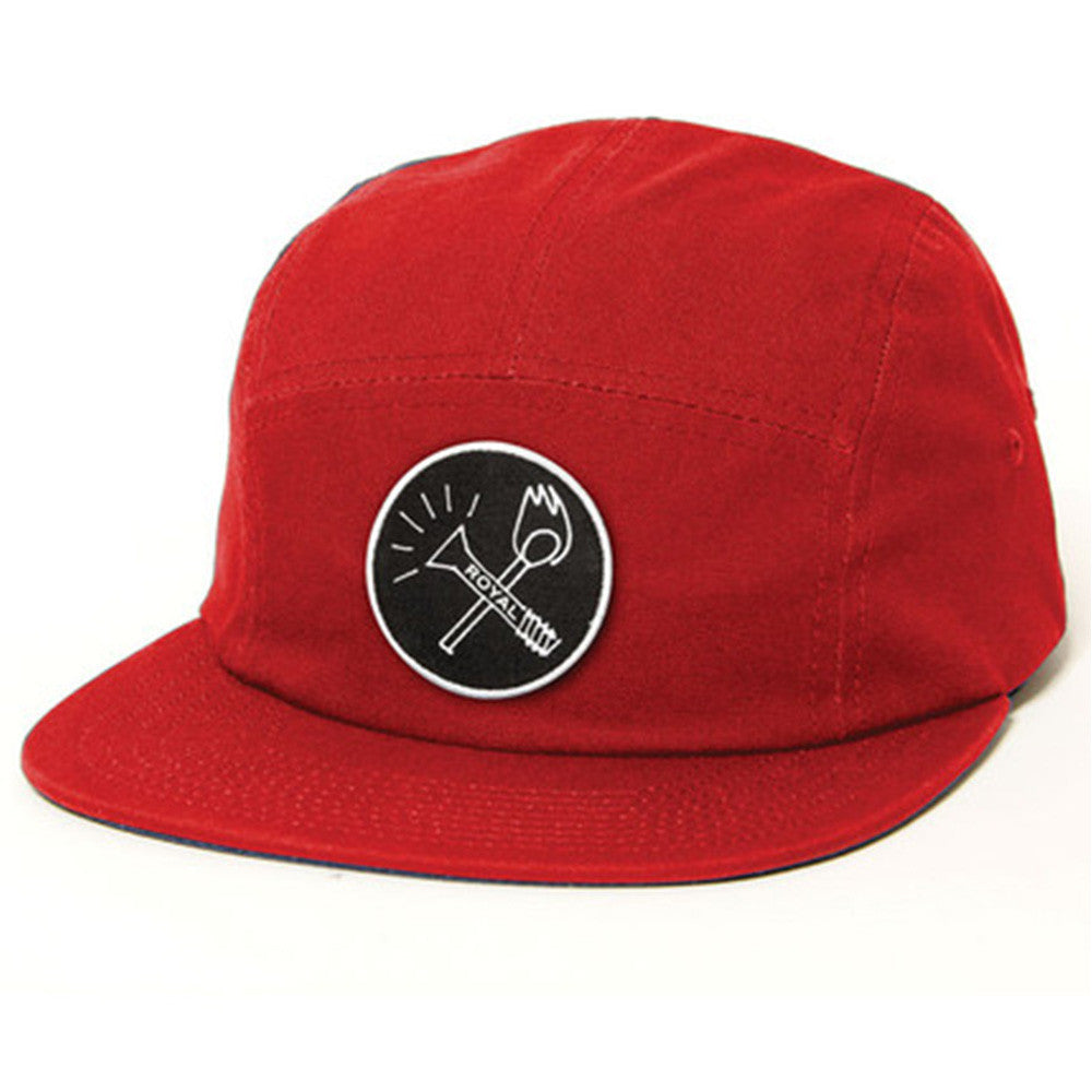 Royal Smoker Camper Men's Hat - Red