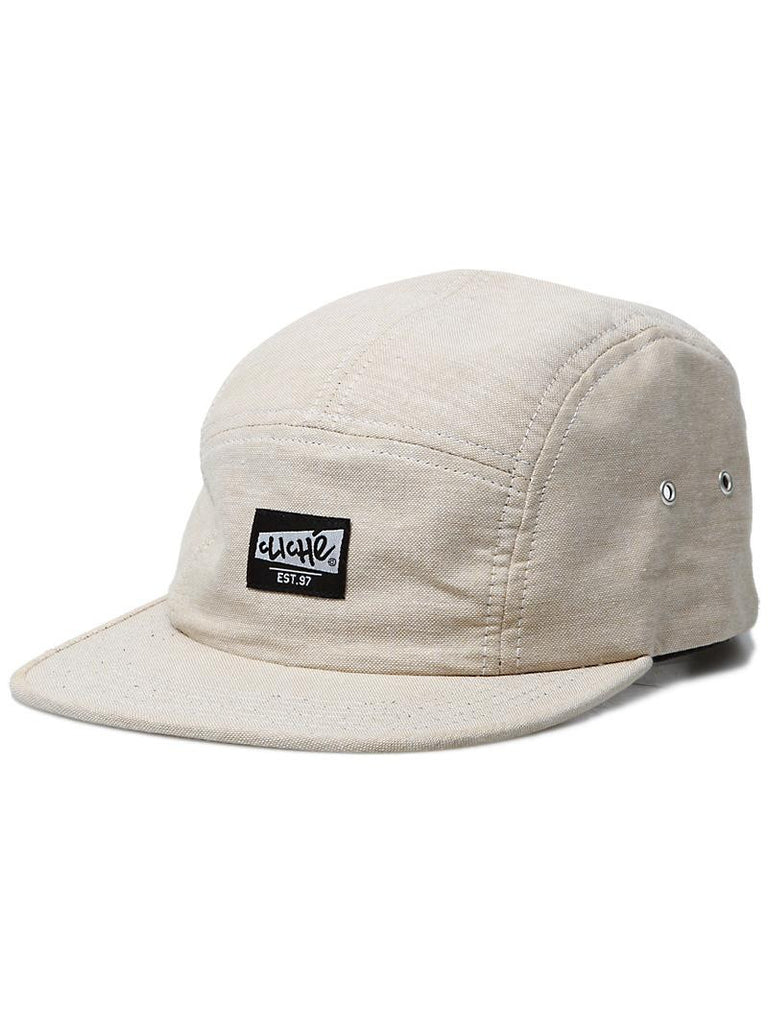 Cliche Chambray Strapback Men's Hat - Tan
