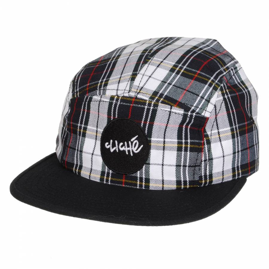 Cliche Wallace Strapback Men's Hat - Plaid