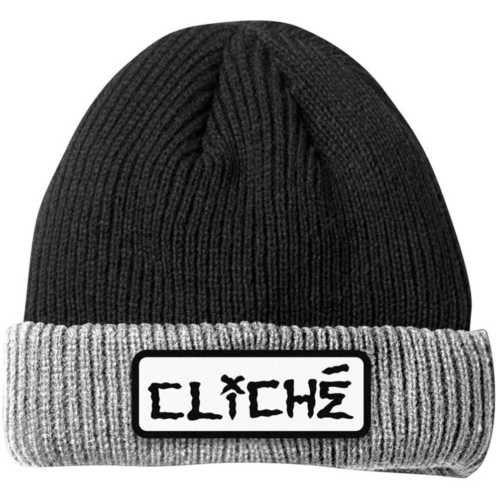 Cliche Dressen Men's Beanie - Black/Grey