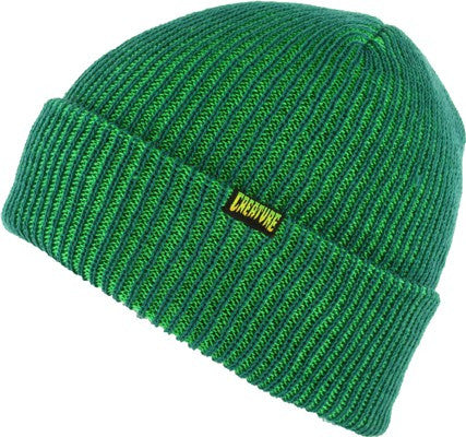 Creature Double Vision Long Shoreman Men's Beanie - OS - Hunter/Kelly Green