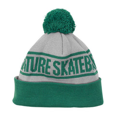 Creature Fu Long Shoreman Men's Beanie - OS - Grey/Green