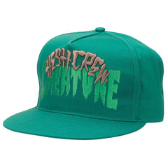 Creature Hesh Crew Adjustable Snapback Men's Twill Hat - Forest