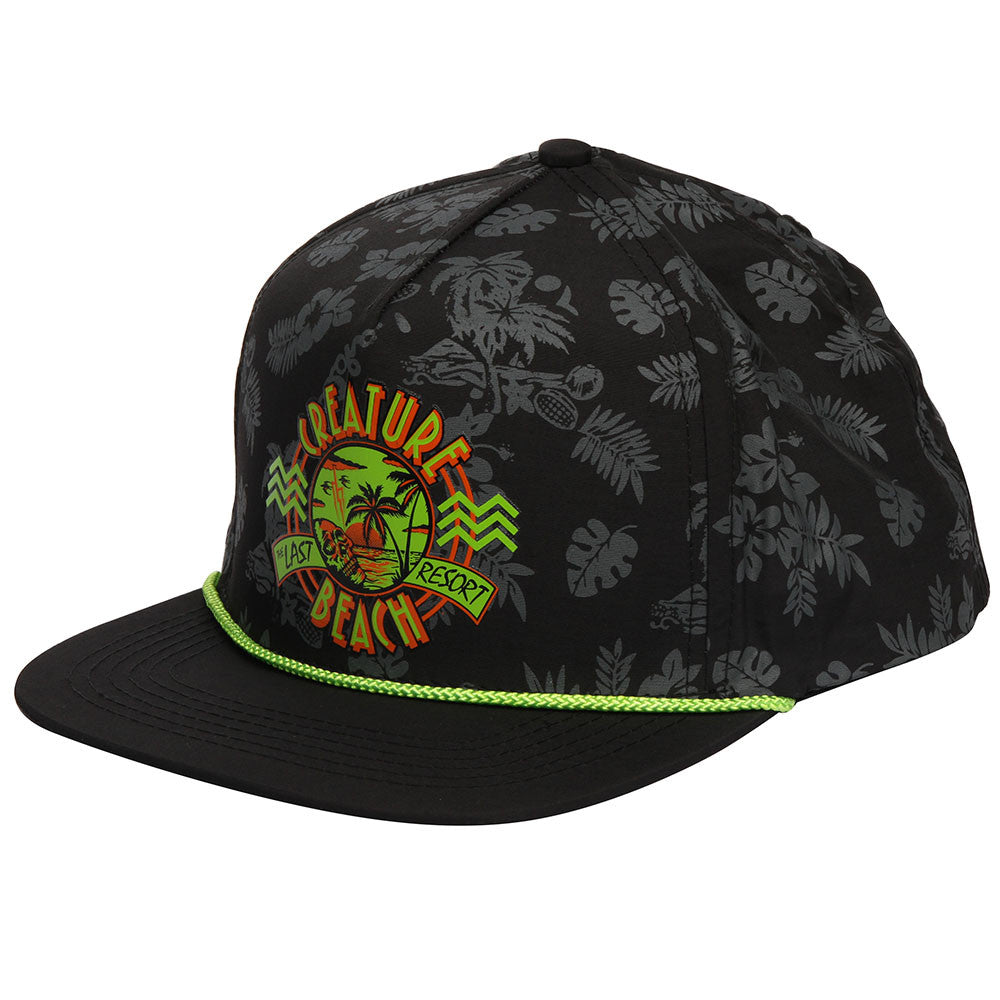 Creature Last Resort Snapback Men's Hat - Black - Adjustable