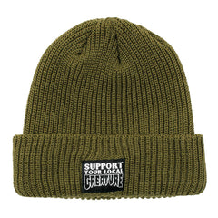 Creature Support Long Shoreman Beanie Men's Beanie - OS - Olive