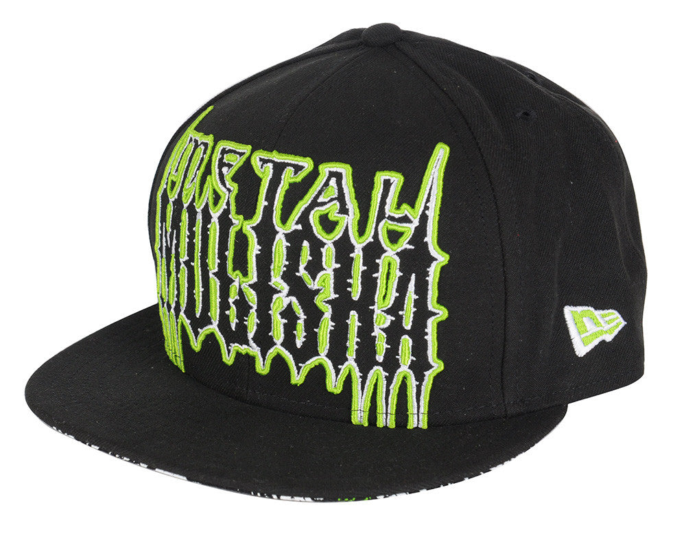 Metal Mulisha Irish Car Bomb Men's Hat - Black/Green
