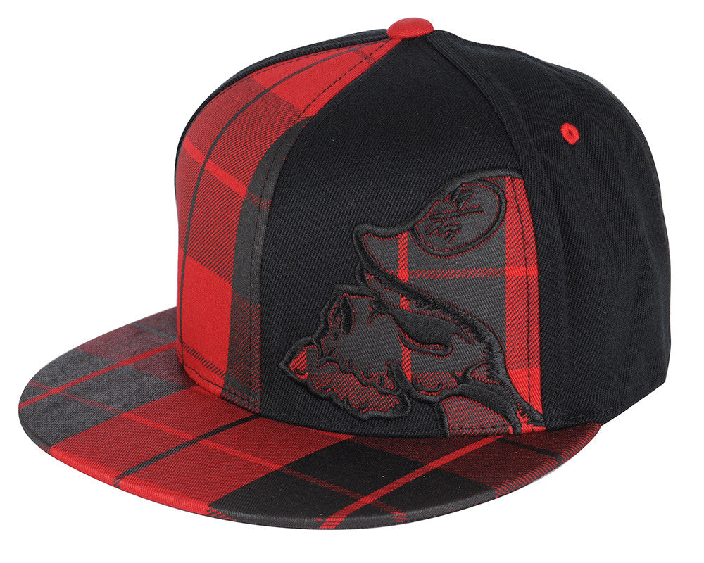 Metal Mulisha Trap Men's Hat - Black/Red