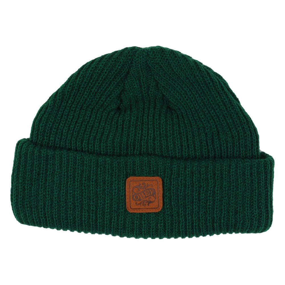 Obey Ruger Outdoors - Men's Beanie - Green