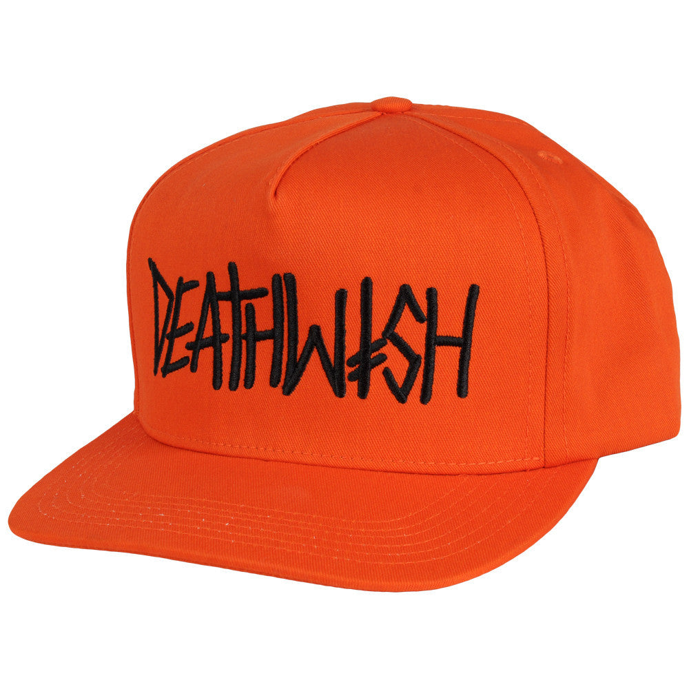 Deathwish Deathspray Snapback Men's Hat - Orange