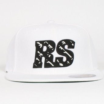 Rogue Status RS Gunfill Men's Hat - Small/Medium- Black/White/White