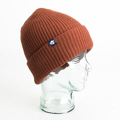 Elwood Lifer Beanie - Rust