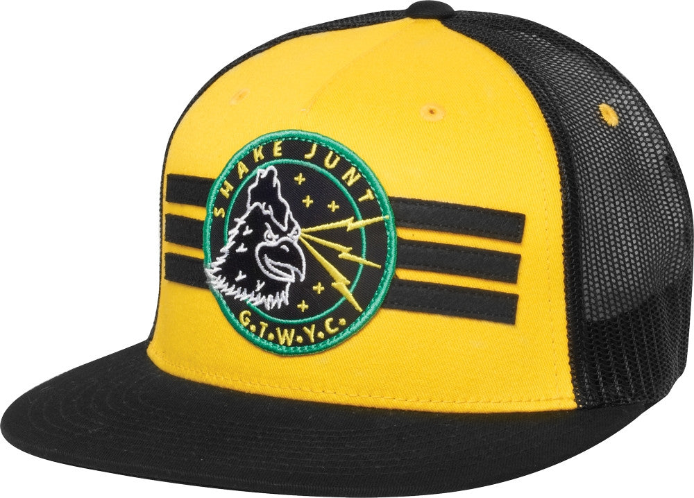 Shake Junt Lightning Men's Trucker Hat - Yellow