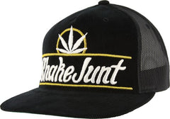 Shake Junt Pure Bud Men's Trucker Hat - Black