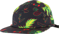 Shake Junt Casual Fridays Men's Strapback 5 Panel Hat - Black