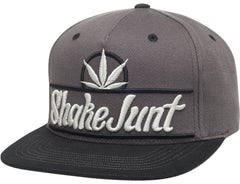 Shake Junt Pure Bud Men's Snapback Hat - Charcoal