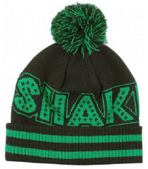Shake Junt Mainline Ball Men's Beanie - Black/Green