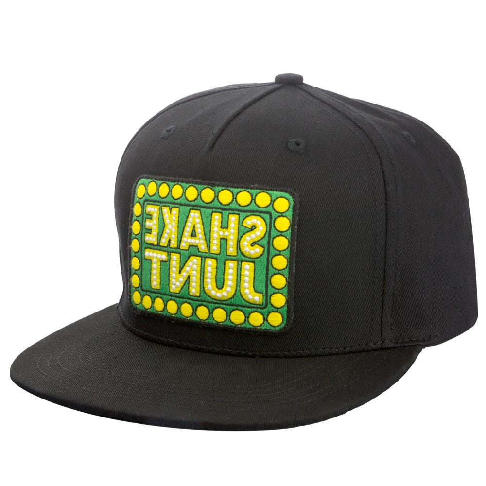 Shake Junt Mirrored Snapback Men's Hat - Black/Green