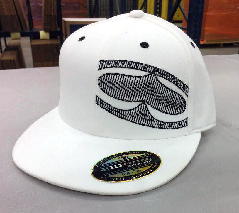 SRH Side Logo - White - Men's FlexFit Hat