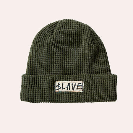 Slave Solid Beanie - Army