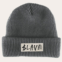 Slave Solid Beanie - Charcoal