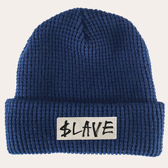 Slave Solid Beanie - Navy