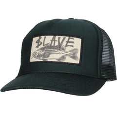 Slave Bass Destruction Trucker Meshcap - Forest Green - Hat