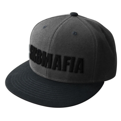 Sk8mafia OG Logo Adjustable Snap Men's Hat - Grey/Black