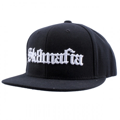 Sk8mafia Old English Adjustable Snap Men's Hat - Black