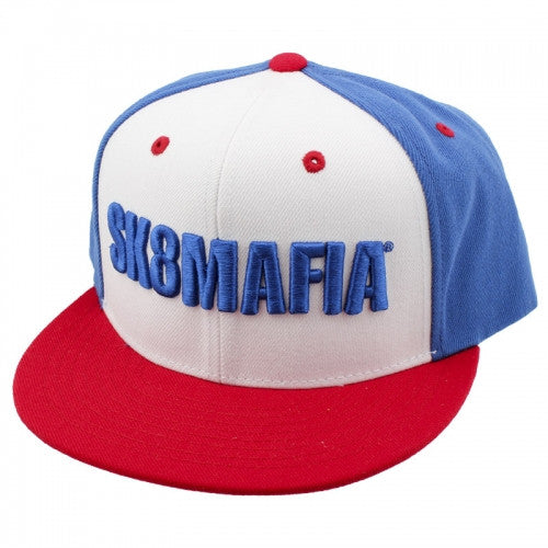 Sk8mafia OG USA Adjustable Snap Men's Hat - Red/White/Blue