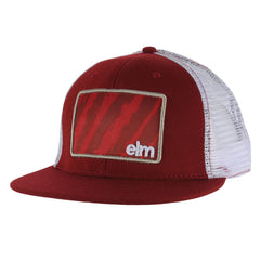 Elm Company The Vandal Men's Trucker Hat - Red