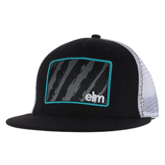 Elm Company The Vandal Men's Trucker Hat - Black
