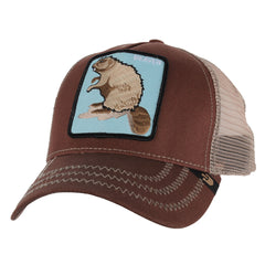 Goorin Brothers Animal Farm Beaver Snapback Men's Hat - Brown