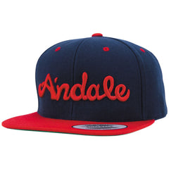 Andale Script Men's Hat - Red