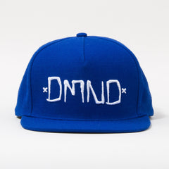 Diamond DMND Men's Snapback Hat - Royal/White