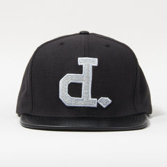 Diamond Ben Baller Un-Polo Men's Snapback Hat - Black/Silver