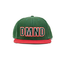 Diamond DMND Felt Embroidered Men's Snapback Hat - Green