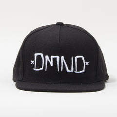 Diamond DMND Men's Snapback Hat- Black/White