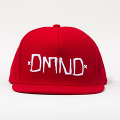 Diamond DMND Men's Snapback Hat - Red/White