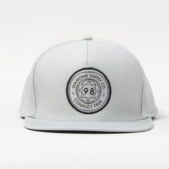 Diamond Conflict Free Men's Snapback Hat - Grey