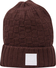 Diamond OG Checker Men's Beanie - Brown