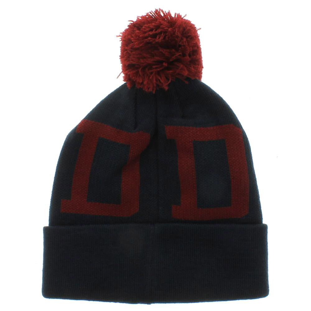 Diamond DMND Snow Pom Men's Beanie - Navy/Red