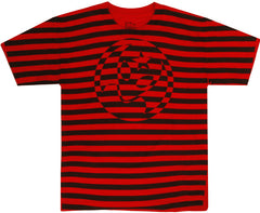 Alien Workshop Soldier Stripe All Over Print Youth Short Sleeve T-Shirt - Red - Youth Medium