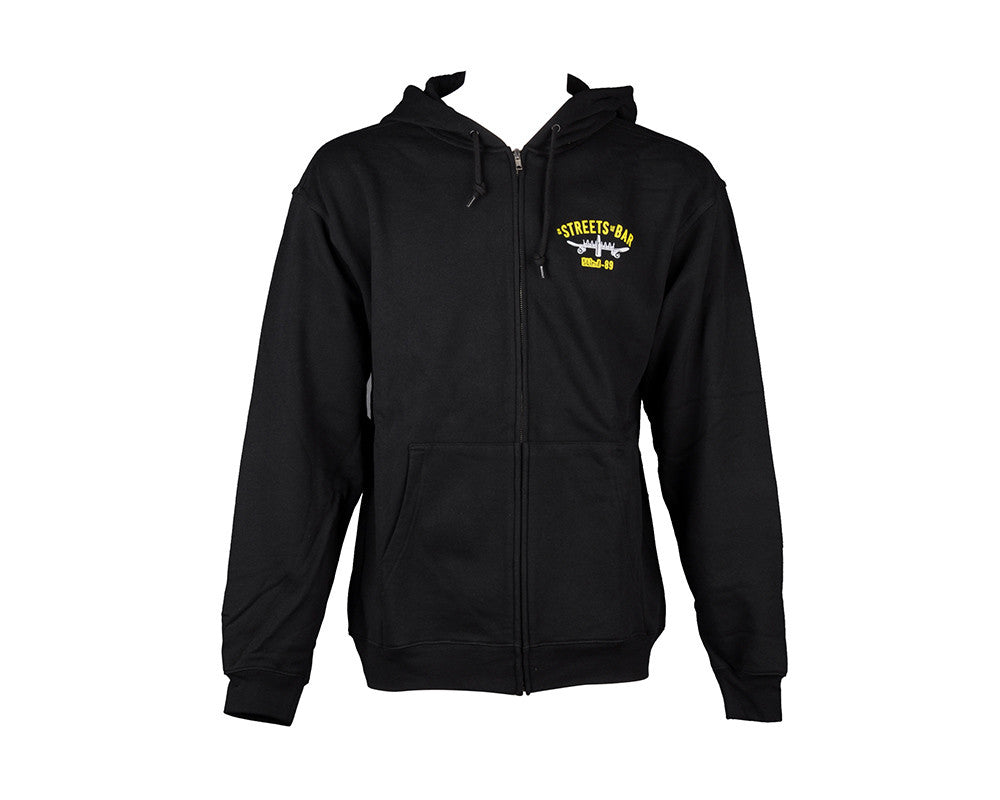 Blind Skate Naval Zip Sweatshirt - Black